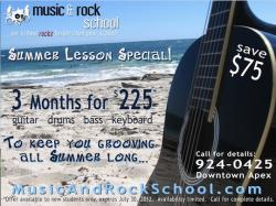 Summer Special - 3 months for $225